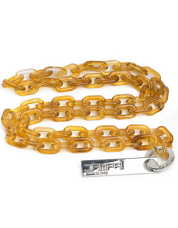 Bag Acrylic Chain - Honey Color