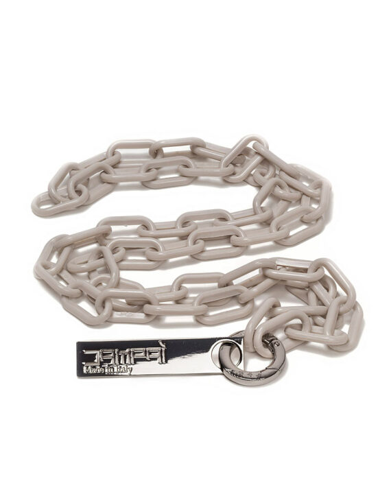 Bag Plastic Chain - Cream Color