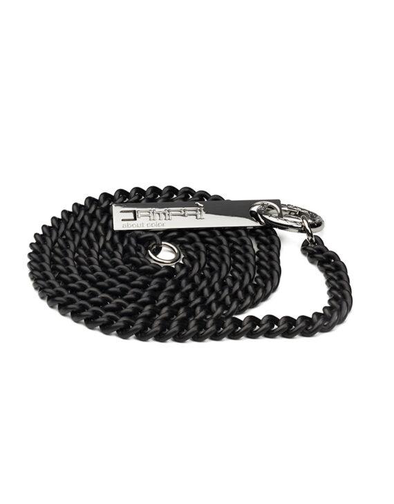Catena per borsa in METALLO, colore nero satinato – modello Grumette