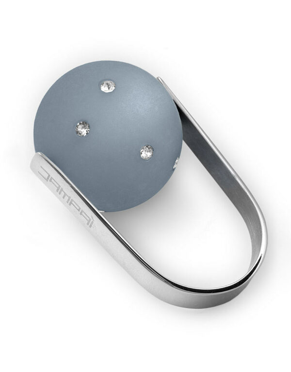 Anello LOVEJOY con sfera Satinata&Strass