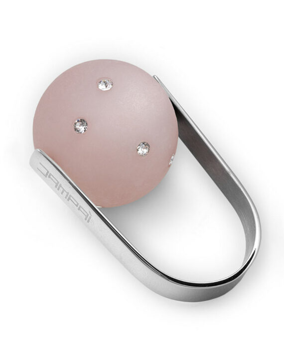 Anello LoveJoy Satinato Rosa Cipria