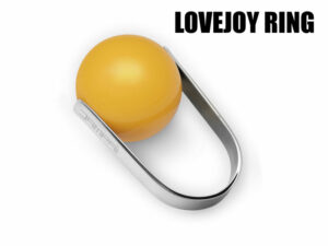 blog- anello lovejoy con sfera gialla