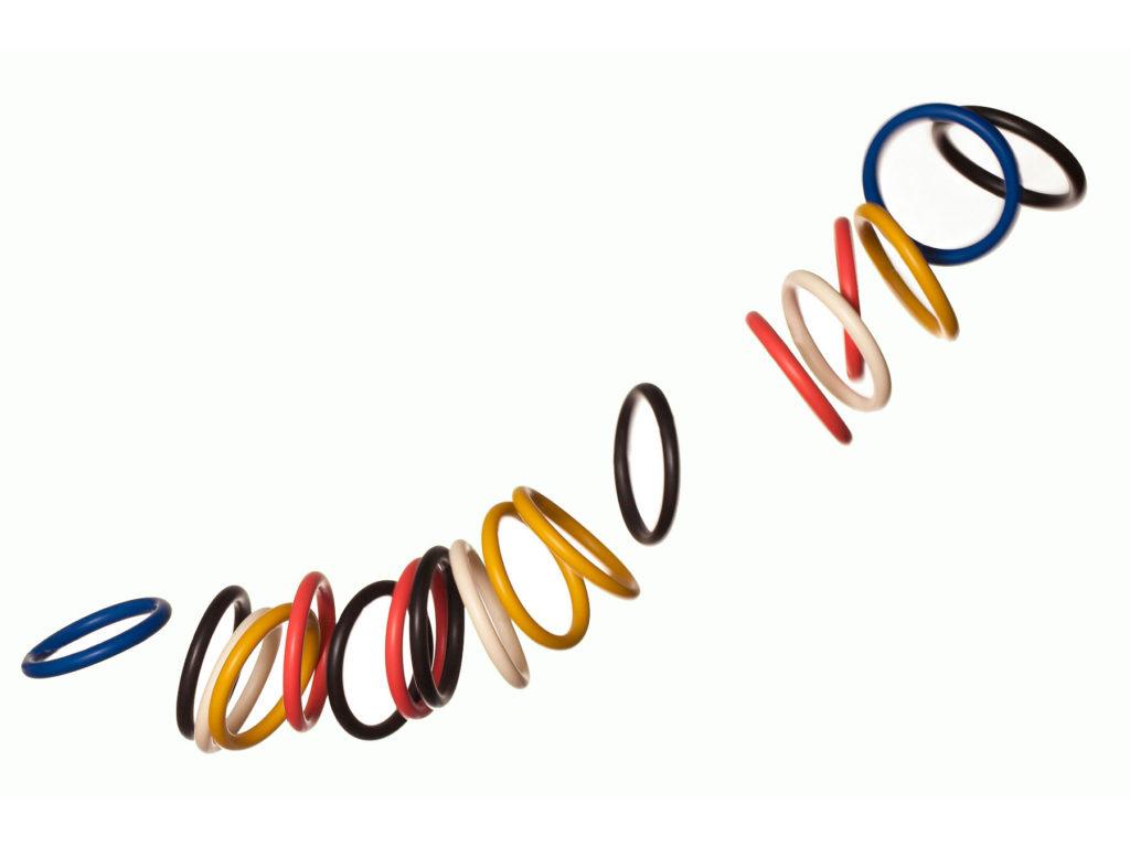 Braccialetti in silicone con accessorio in acciaio Bernardo&Cuore Dampaì